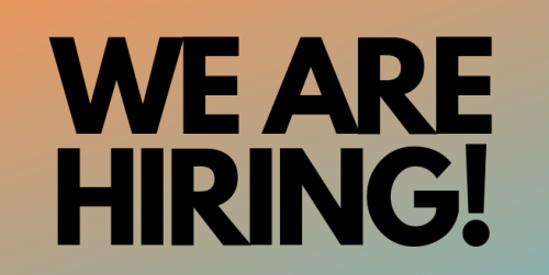 Join our team: We are now hiring for 2 positions!